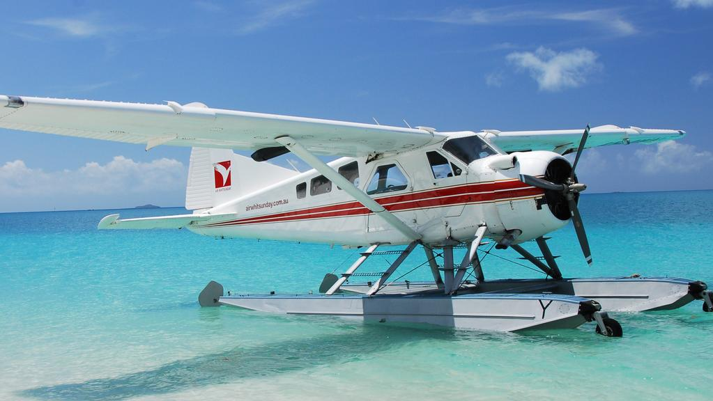 seaplane trial for rottnest island the courier mail