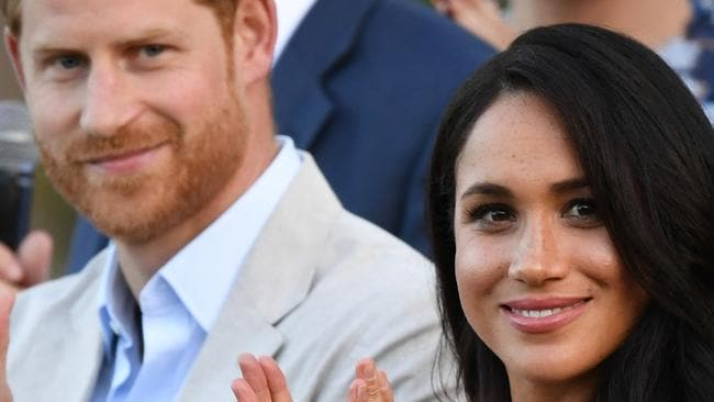 Prince Harry and Meghan Markle may threaten palace with secret tapes – NEWS.com.au