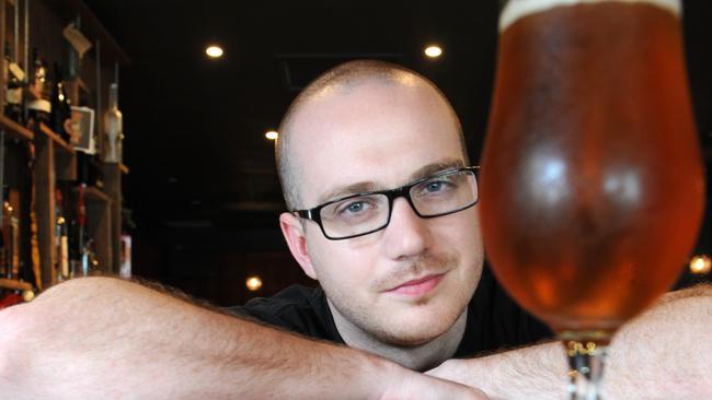 Ben Nichols of The Scratch, craft beer dive.