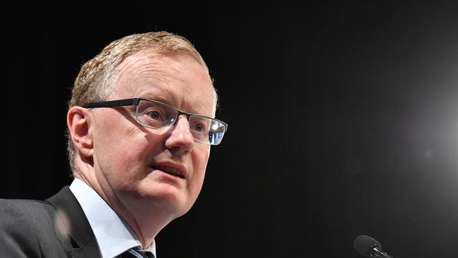 Reserve Bank of Australia governor Dr Philip Lowe is tipped to announce a cut. Picture: Darren England/AAP