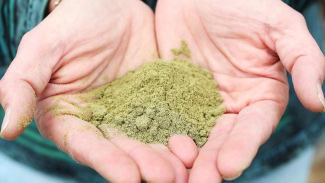 Hemp products like this powder are said to be a good source of essential fatty acids. Picture: Nikki Davis-Jones