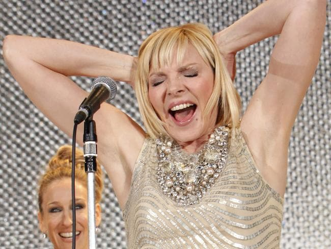 Kim Cattrall says she said a year ago that she didn't want to do Sex and the City 3. Picture: AP