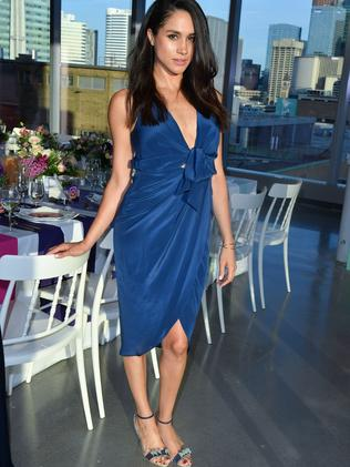 Meghan Markle attends the Instagram Dinner in Toronto, Canada in 2016. Picture: George Pimentel/WireImage