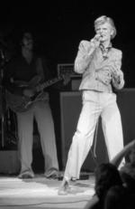 In this Nov. 1, 1974, file photo, David Bowie performs at Radio City Music Hall in New York.Picture:AP Photo/Suzanne Vlamis