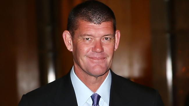 James Packer also considered some of the land. Picture: Scott Barbour/Getty Images