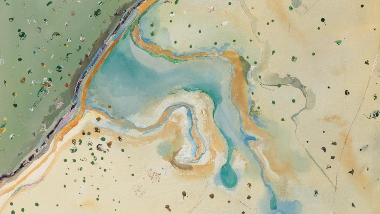 Fred Williams's Weipa series at Cairns gallery