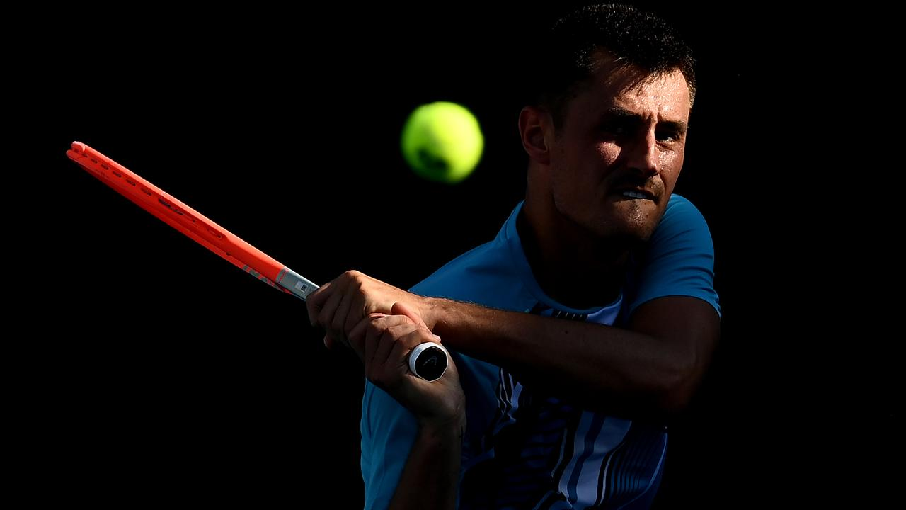 Bernard Tomic has not fulfilled his potential. (Photo by Quinn Rooney/Getty Images)
