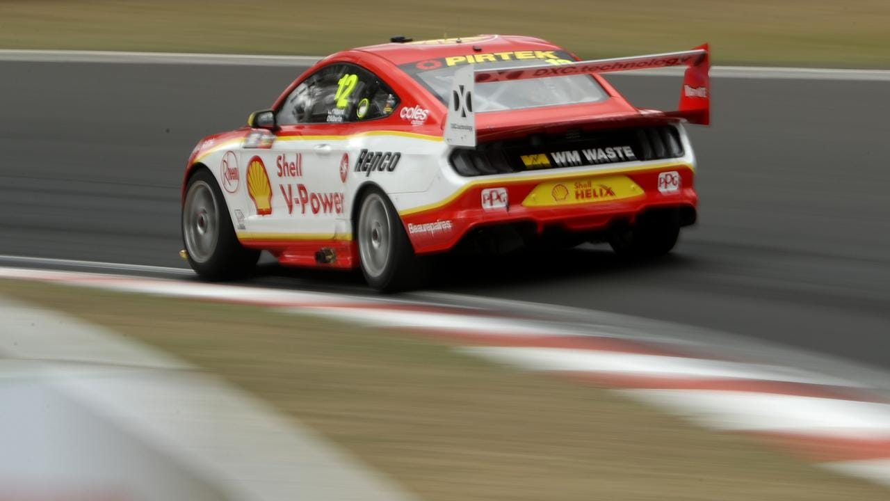 The #17 won the race, but Fabian Coulthard's actions provided the big talking point. Picture: Robert Cianflone