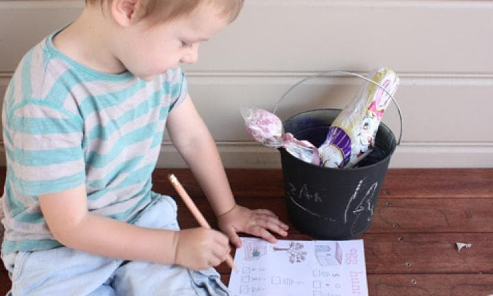 How to have an Easter egg treasure hunt