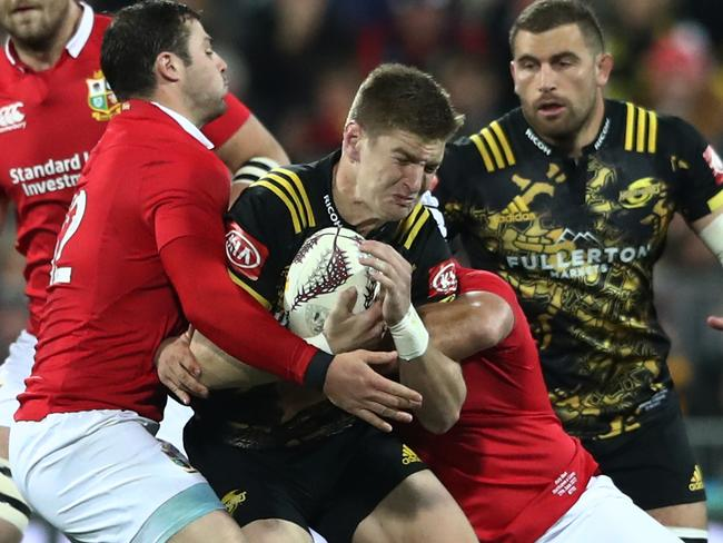 Hurricanes fullback Jordie Barrett will make his All Blacks starting debut in the third Lions Test.