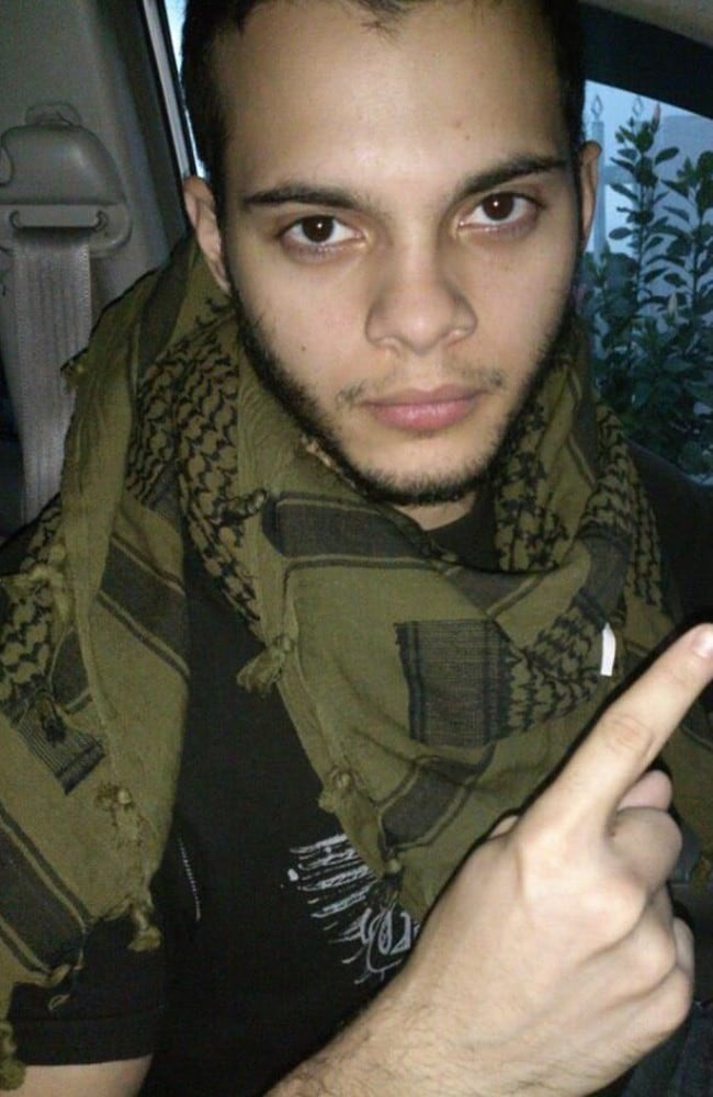 Accused Florida gunman Esteban Santiago. Picture: Twitter