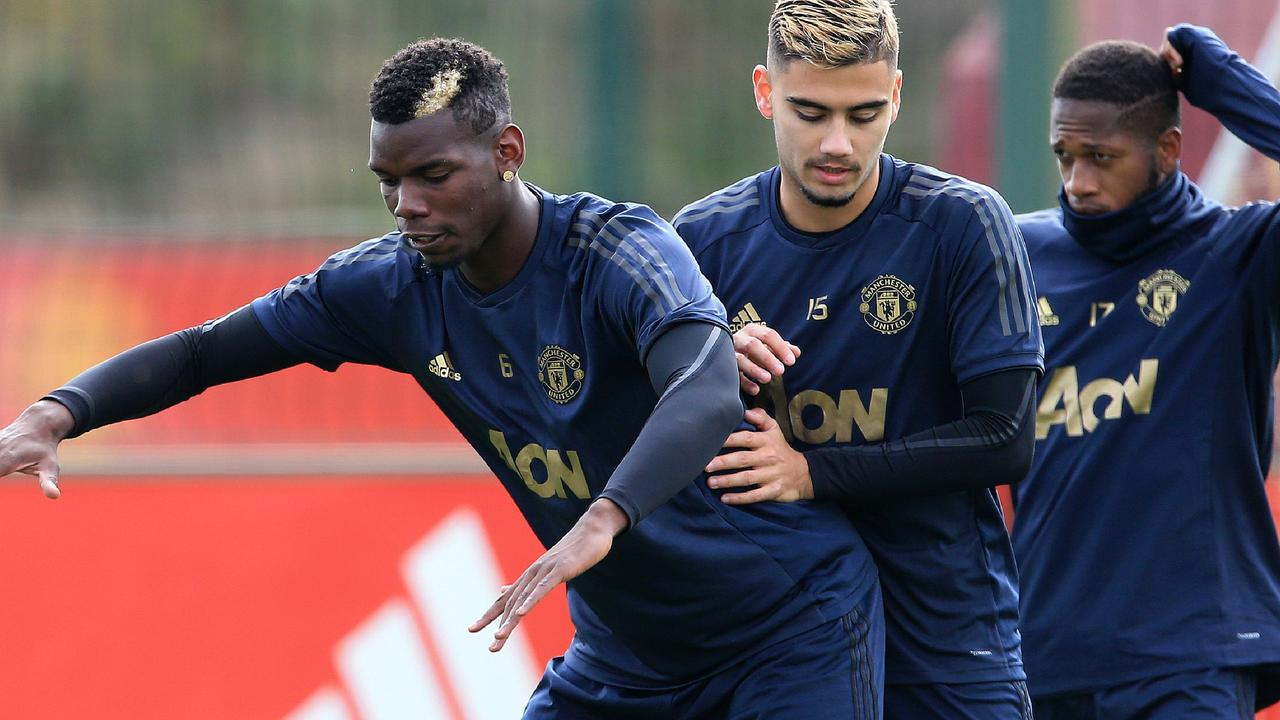 Andreas Pereira confirmed the training ground row was caused by an Instagram mix-up.