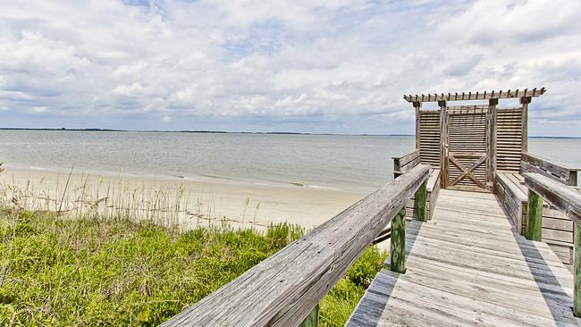 Head out through your own gate to the beach. Picture: Tybee Vacation Rentals