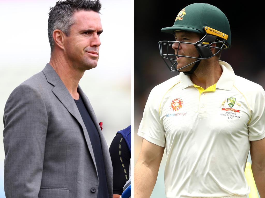 Kevin Pietersen has taken aim at Tim Paine.