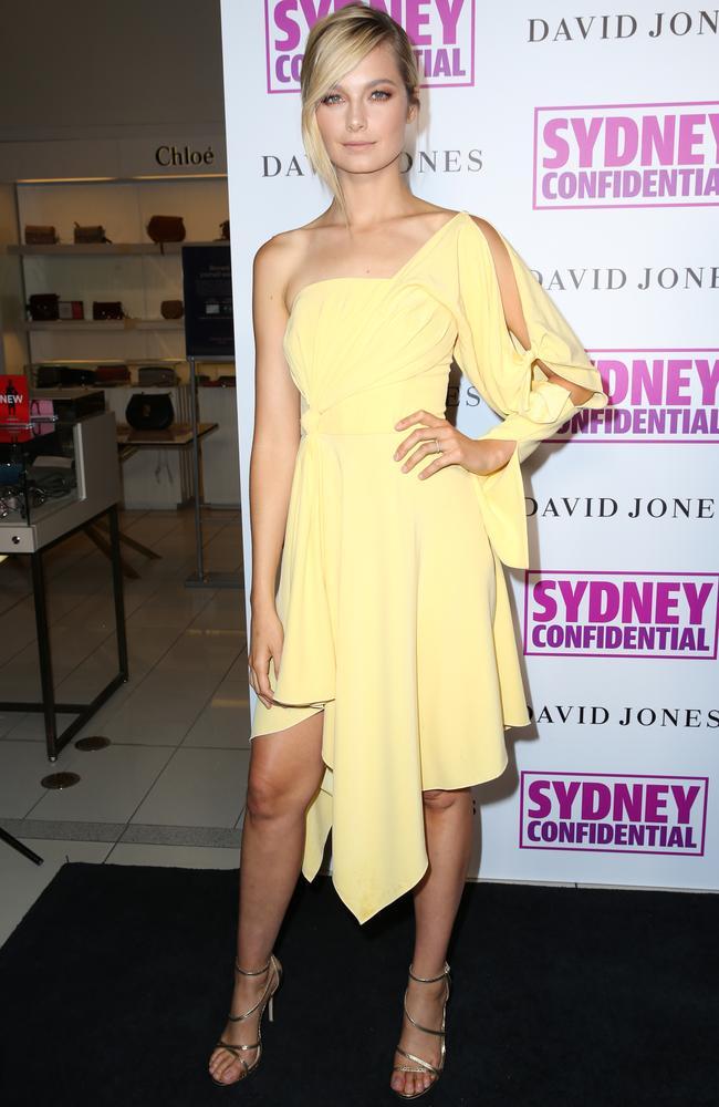 Victoria's Secret model Bridgett Malcolm. Picture: Christian Gilles