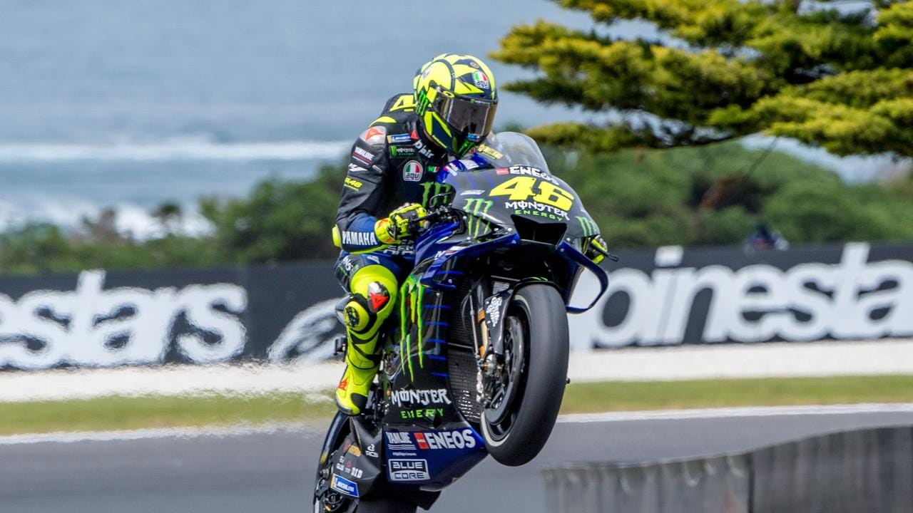 Valentino Rossi looks set to continue.