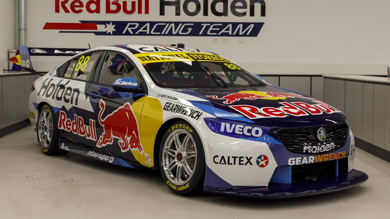 Here it is! The 2020 Red Bull Holden Racing Team livery.