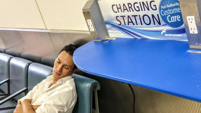 You should avoid public charging stations because cybercriminals can modify those USB connections to install malware on your phone.