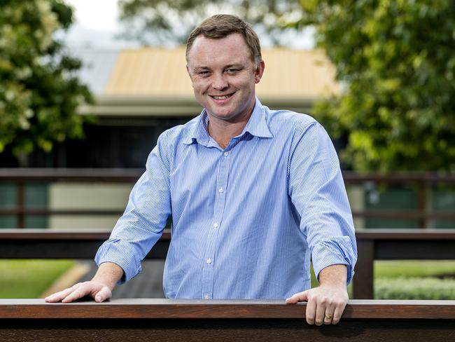 New Magic Millions director Barry Bowditch is all smiles. Picture: Jerad Williams