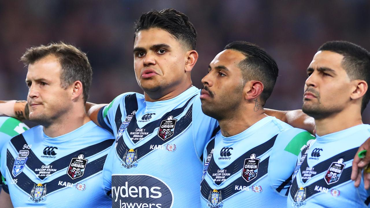 Latrell Mitchell has been axed from the NSW State of Origin team.