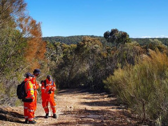 The volunteers have spent almost 24 hours search for the missing bushwalker. Picture: Facebook