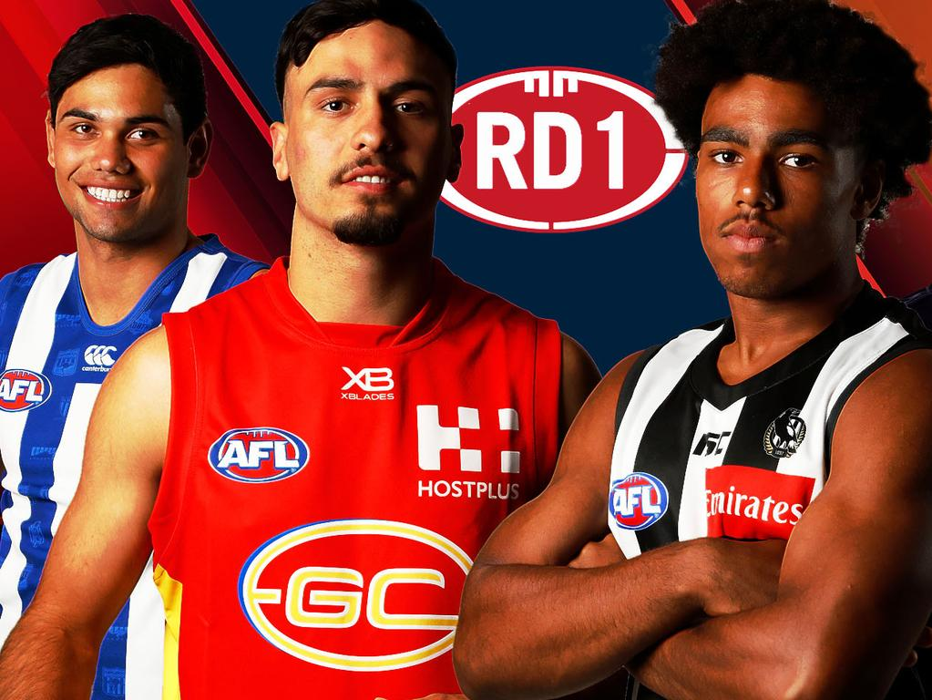 The 2019 AFL draftees who are ready for Round 1.