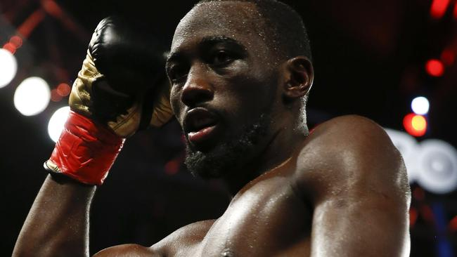 Terence Crawford needs time to recover from a hand injury.
