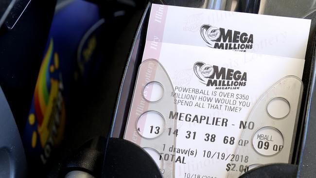 It will be second only to 2016's record Powerball draw. Picture: Nam Y Huh/AP