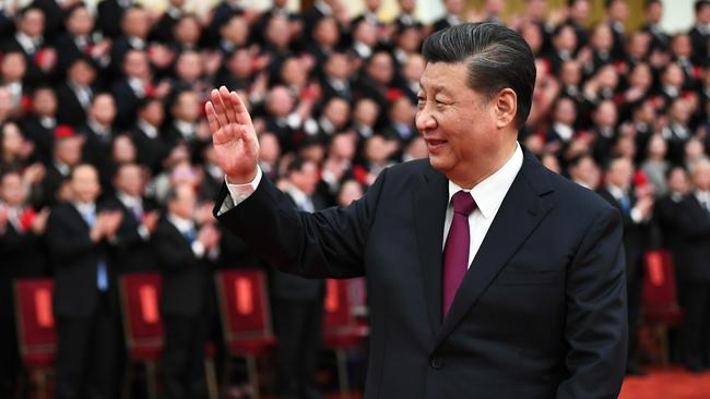 Chinese President Xi Jinping in Beijing in February. Picture: Xinhua/Xie Huanchi via Getty Images