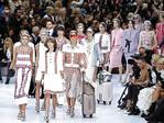 Models present creations by German designer Karl Lagerfeld at Chanel's Spring/Summer 2016 women's ready-to-wear show during Paris Fashion Week. Picture: Reuters