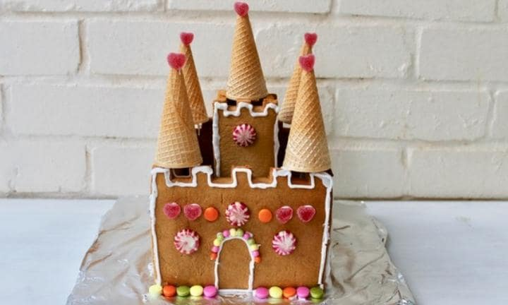 Nutcracker gingerbread castle