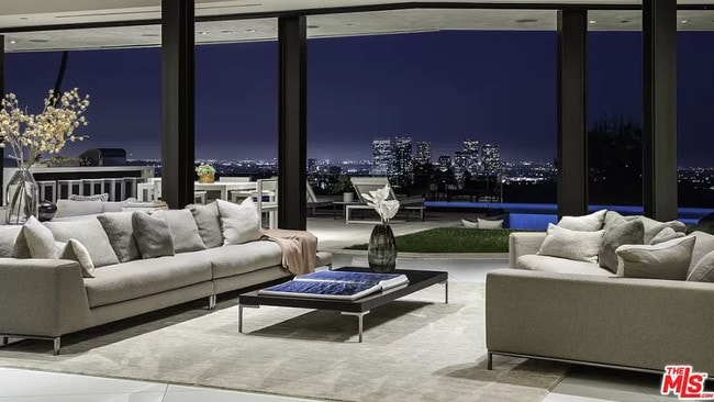 Inside the Beckham's family holiday rental. Picture: MLS