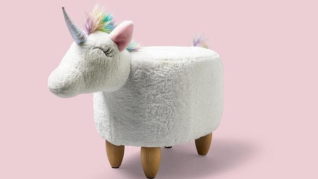 This unicorn ottoman from Big W had people going mad last year.