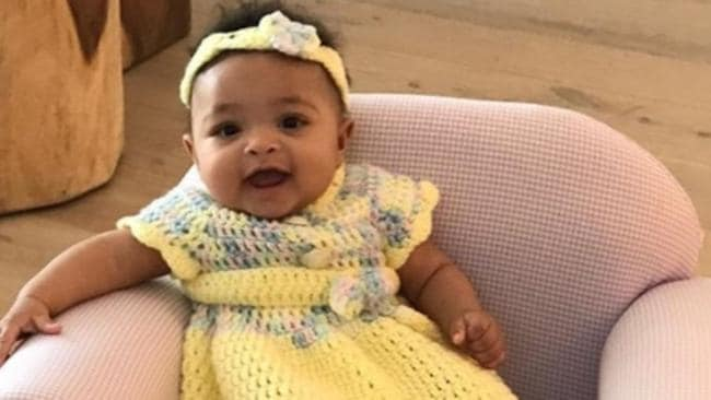 Williams' adorable daughter Alexis Olympia. Picture: @serenawilliams/Instagram