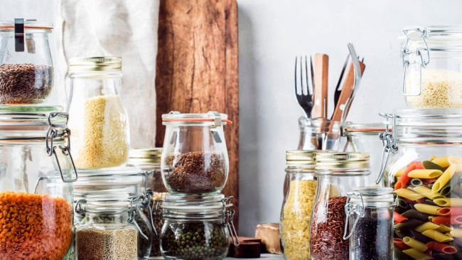 Clear out you pantry of leftovers to quickly start you healthy eating journey. Image: iStock.