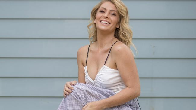 Natalie Bassingthwaighte is hosting Changing Rooms. Picture: Jason Edwards