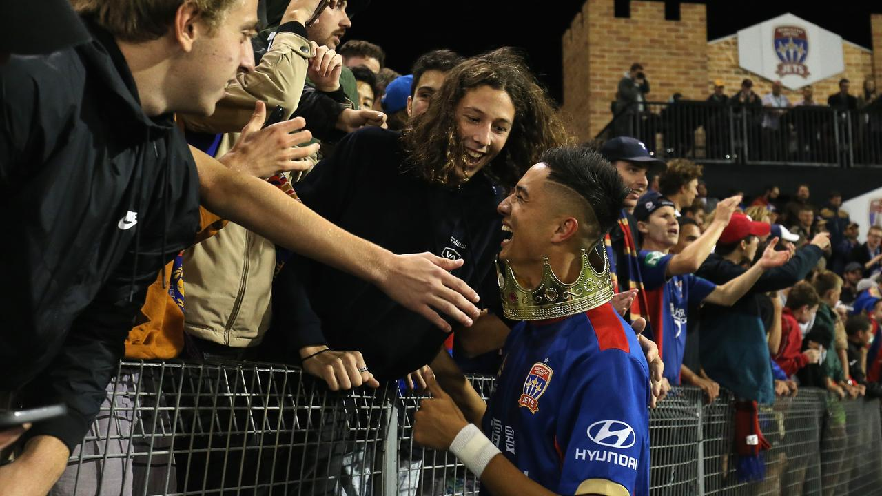 Joey Champness was a popular figure with Newcastle fans (Photo by Ashley Feder/Getty Images)