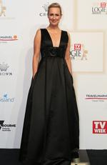 Melissa Doyle arrives on the red carpet at the 59th annual TV Week Logie Awards on April 23, 2017 at the Crown Casino in Melbourne, Australia. Picture: Julie Kiriacoudis