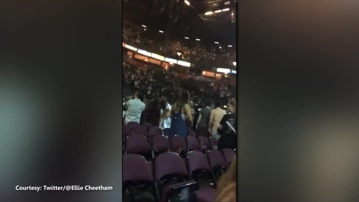 Huge explosion heard from inside Manchester Arena