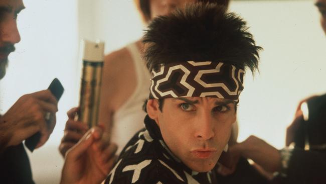 Actor Ben Stiller in a scene from Zoolander.