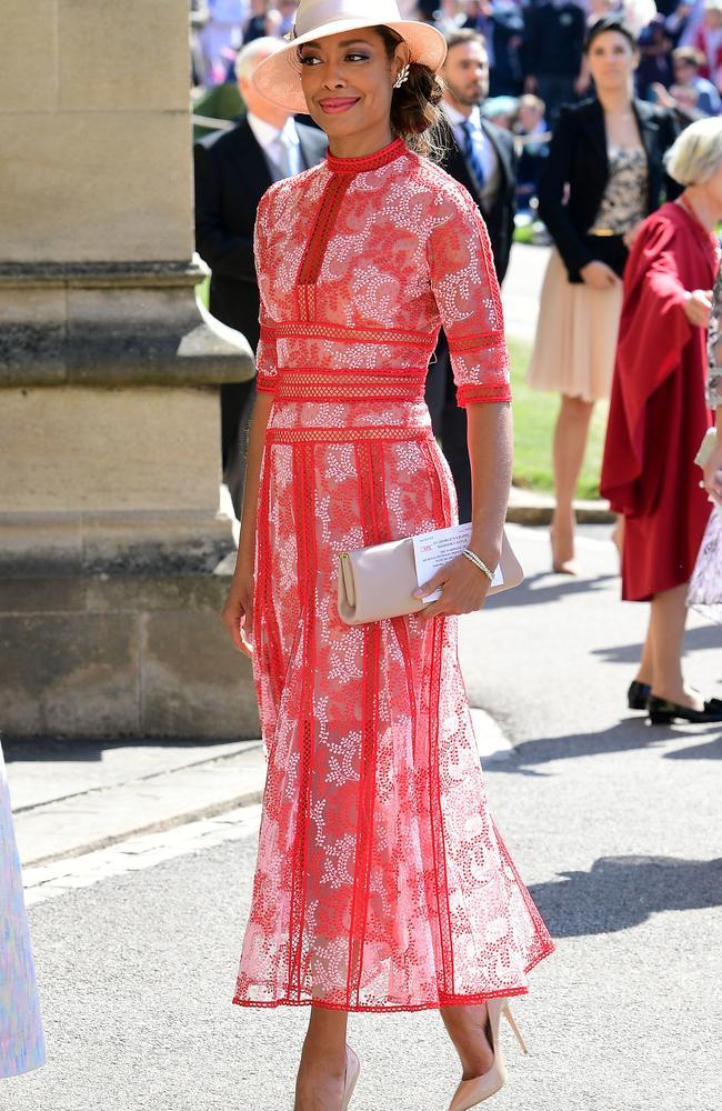 US actress Gina Torres. Picture: AFP PHOTO / POOL / Ian West