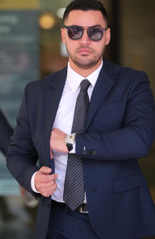 Salim Mehajer has been sentenced for assaulting a taxi driver at Star Casino last year. Picture: John Grainger.