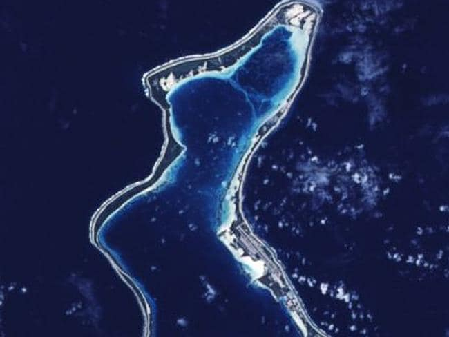 Diego Garcia. Picture: NASA.