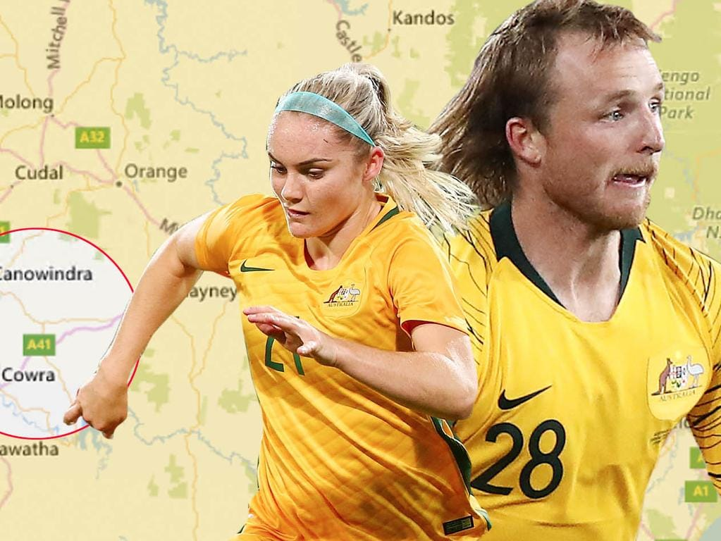 Ellie Carpenter and Rhyan Grant both come from a small pocket in Central West NSW