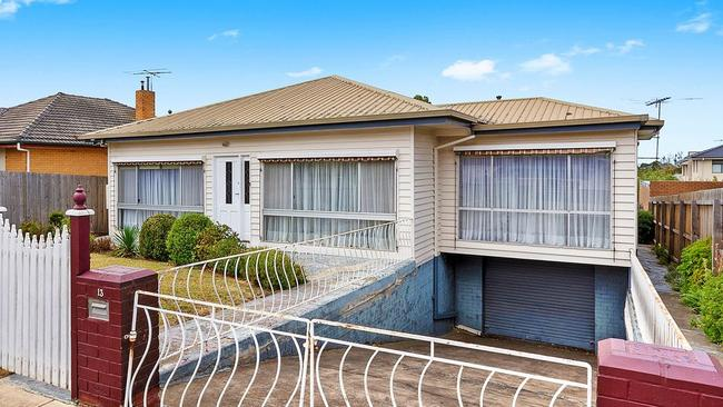 Three buyers make offers for this five-bedroom house at 13 Belcher St, Hamlyn Heights, which sold for $562,000.