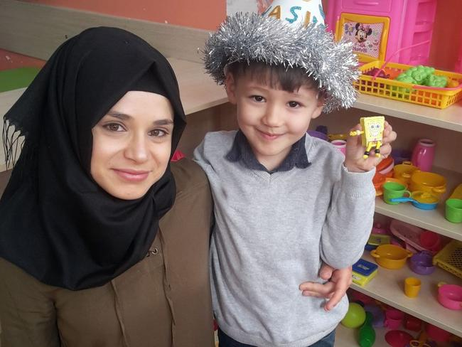 His wife Rabia Kilincer was at the market when he admitted he killed his son Huseyin. Picture: Newsflash/australscope