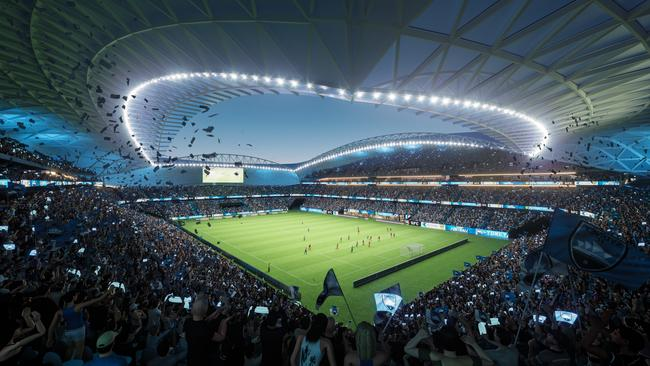 Critics say the new Allianz Stadium is unnecessary. Picture: AAP