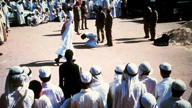 Saudi Arabia has one of the world's highest rates of execution.