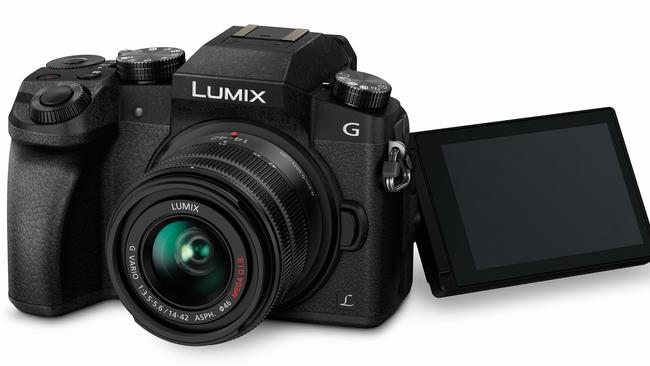 Capturing the moment ... The Lumix DMC-G7, a compact system camera with a 4K burst mode designed for capturing action. Picture: Supplied