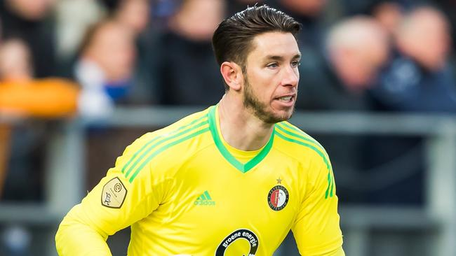 Brad Jones has been in strong form for Feyenoord in Holland.